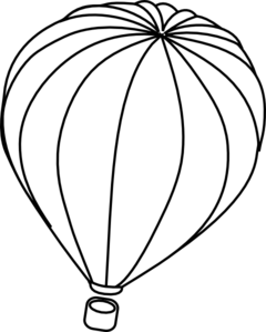 Whit clipart hot air balloon Air Air Art Clip Balloon