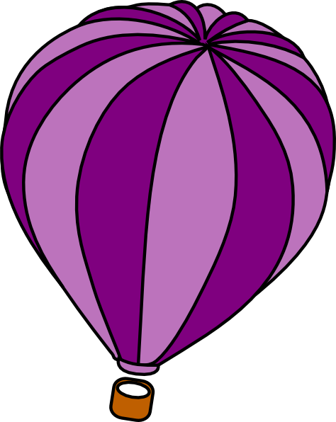 Hot Air Balloon clipart sketch #1