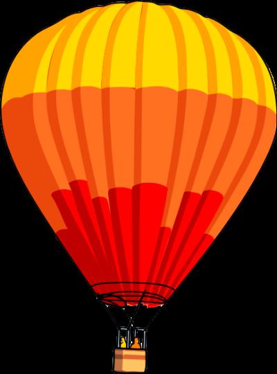 Orange clipart hot air balloon Panda Air Hot Hot Clipart