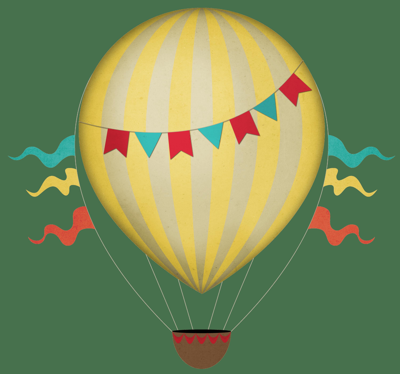 Yellow clipart hot air balloon Download air hot · Hot