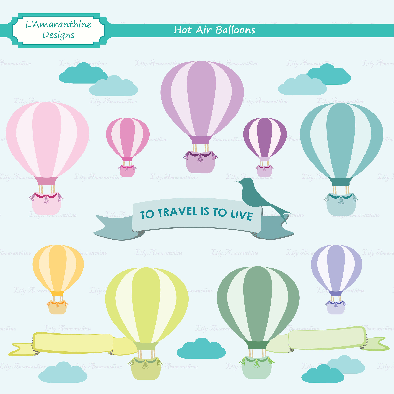Vehicle clipart uses air Clipart Balloon Air  Wanderlust