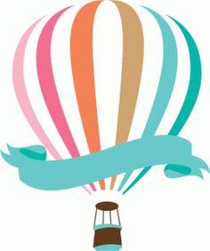 Hot Air Balloon clipart vintage Air Pinterest Print Design printable