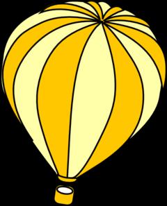 Orange clipart hot air balloon Yellow Clipart Air Balloon Clipart