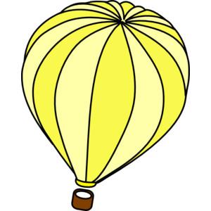 Yellow clipart hot air balloon Colorful%20hot%20air%20balloon Art Clip Hot Free
