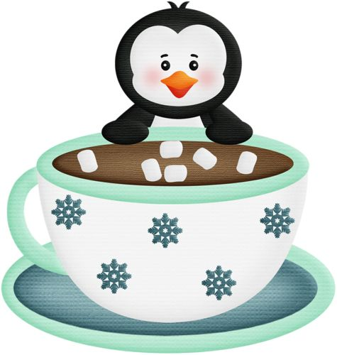 Winter clipart hot cocoa With COFFEE hot Penguin 51