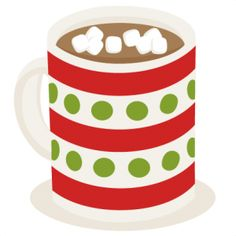 Holydays clipart hot cocoa Clip Holiday Illustration Cocoa chocolate