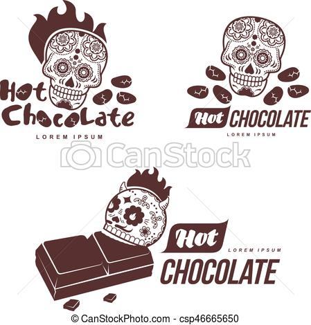 Hot Chocolate clipart cafe Roasted for business Vector of