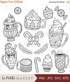 Hot Chocolate clipart holiday #11