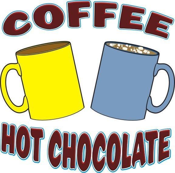 Hot Chocolate clipart hot coffee Chocolate Sticker Cart Chocolate Decal