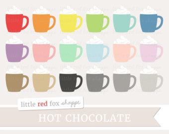 Hot Chocolate clipart hot coffee Hot Art Clipart Latte Chocolate