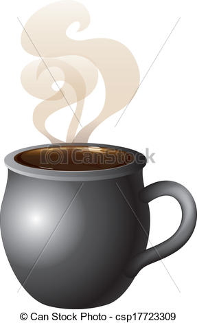 Hot Chocolate clipart hot coffee Vector Hot Hot Coffee csp17723309