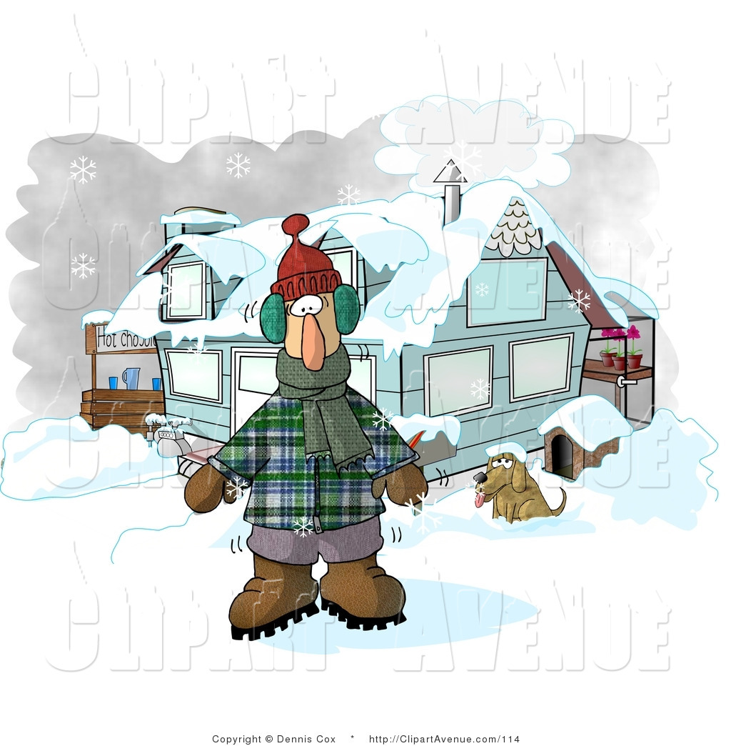 Warmth clipart winter weather Hot House by Standing a