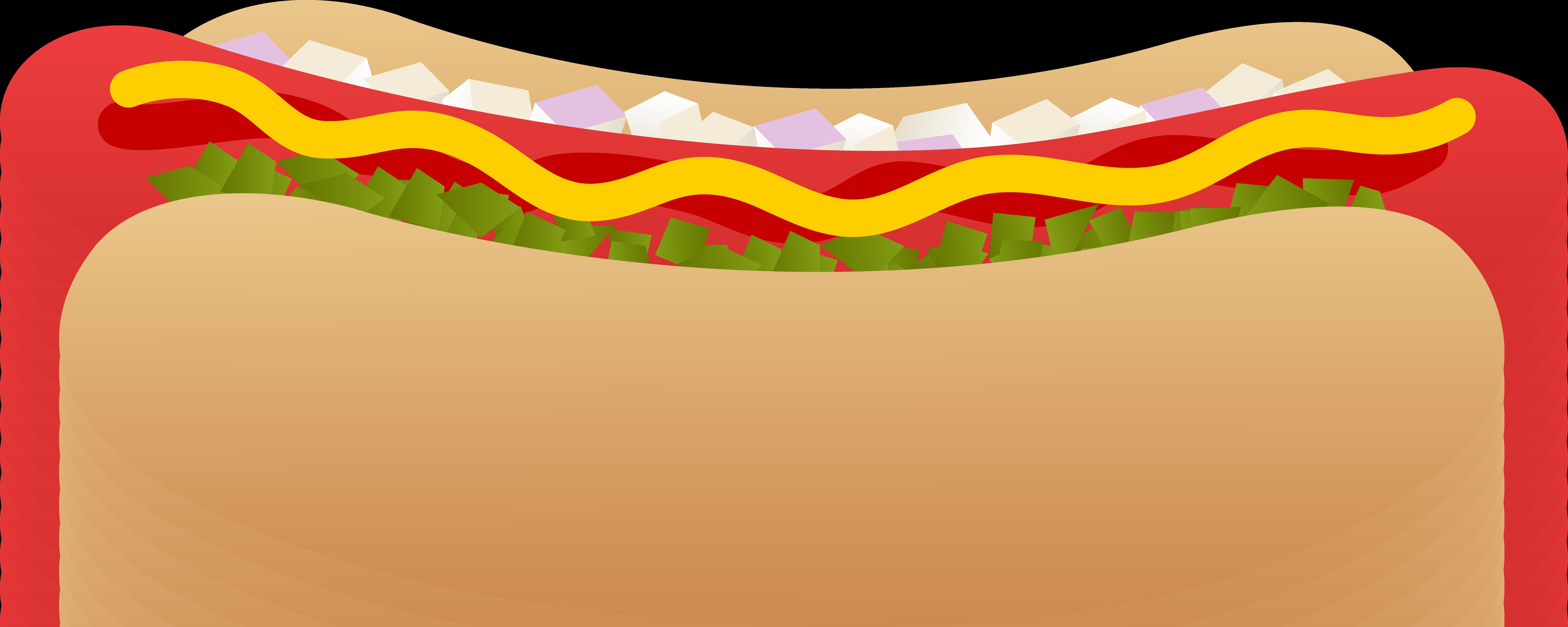 Sausage clipart bread cartoon #1