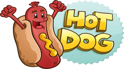 Hot Dog clipart american food In weighs Hot Sausage Hot