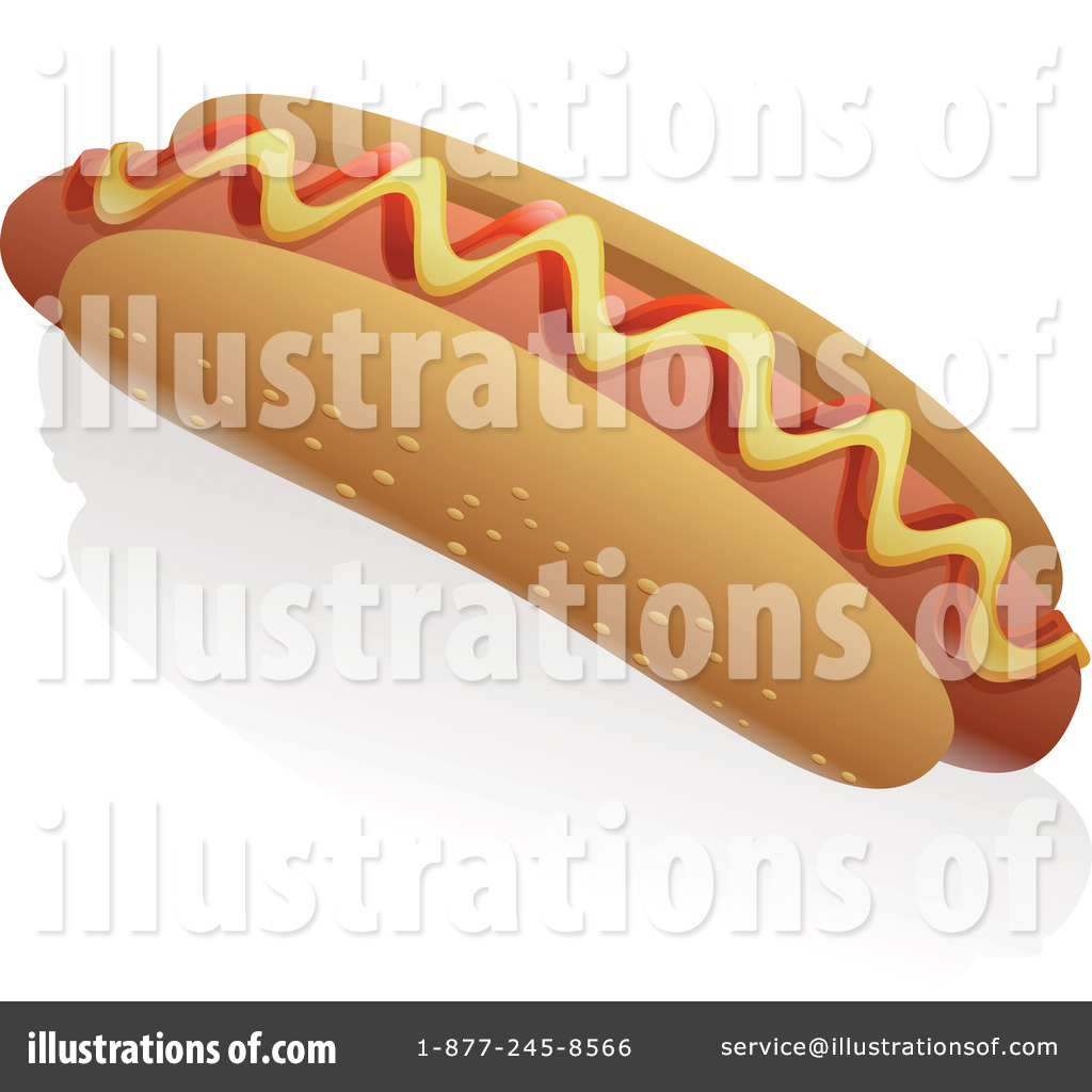 Hot Dog clipart american food Tonis by by Stock Clipart