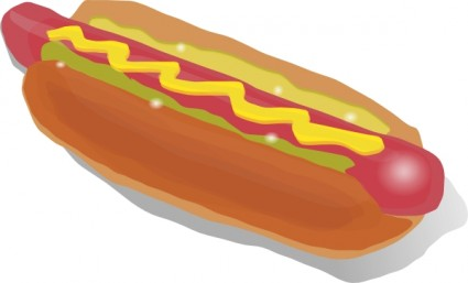 Hot Dog clipart american food Clipart Free Clipart And Images
