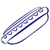 Hot Dog clipart ballgame Clipart hotdog clipart Clipart Hotdog