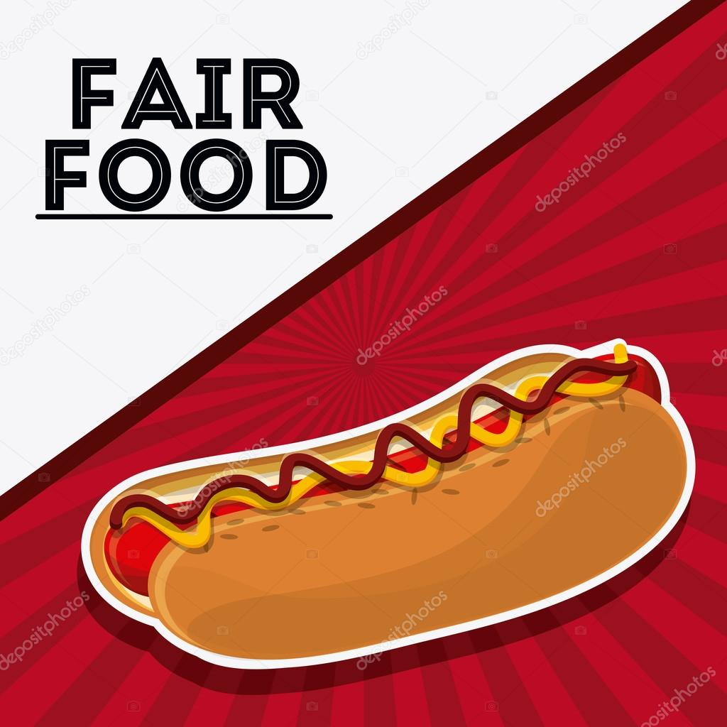 Hot Dog clipart carnival Hot  #119624142 icon —