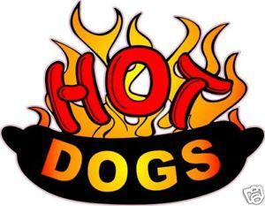 Advertisement clipart hotdog Hot Advertisement Decal Decal 14
