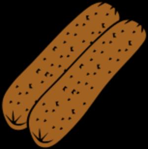 Hot Dog clipart fried Clip Hot Art Hot Clip