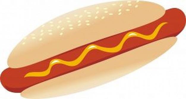 Hot Dog clipart plain burger Dog Clipart Hot clipartsgram Plain