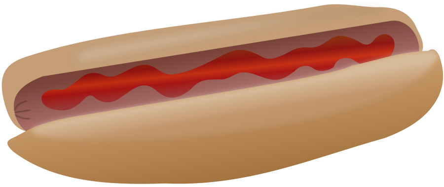 Hot Dog clipart red Hotdog Hotdog Clipart Clipart Clipart