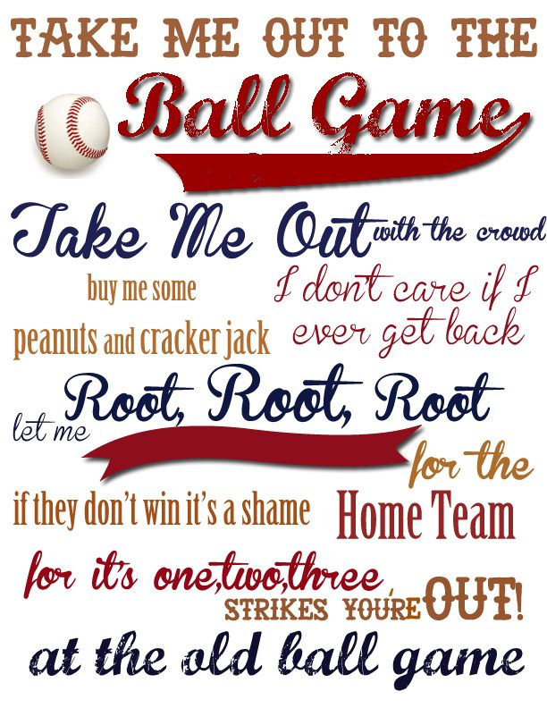 Hot Dog clipart take me out The Baseball Boys Me FREE