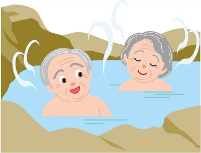 Hot Springs clipart black and white With healthy a mineral hot