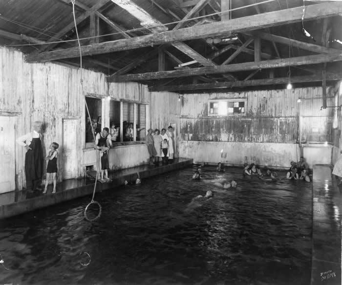 Hot Springs clipart black and white Springs Hot mcleodbathhouseinterior 000