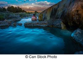 Hot Springs clipart bridgeport ca Bath  Photo over Sunrise
