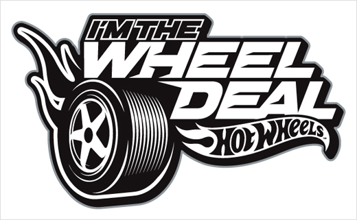 Hot Wheels clipart black and white Logo Badge Free Download Clip