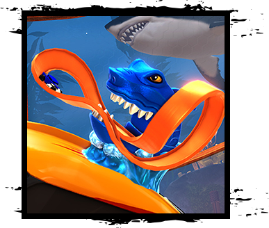 Hot Wheels clipart blue Hot Site Shark Official Rocket