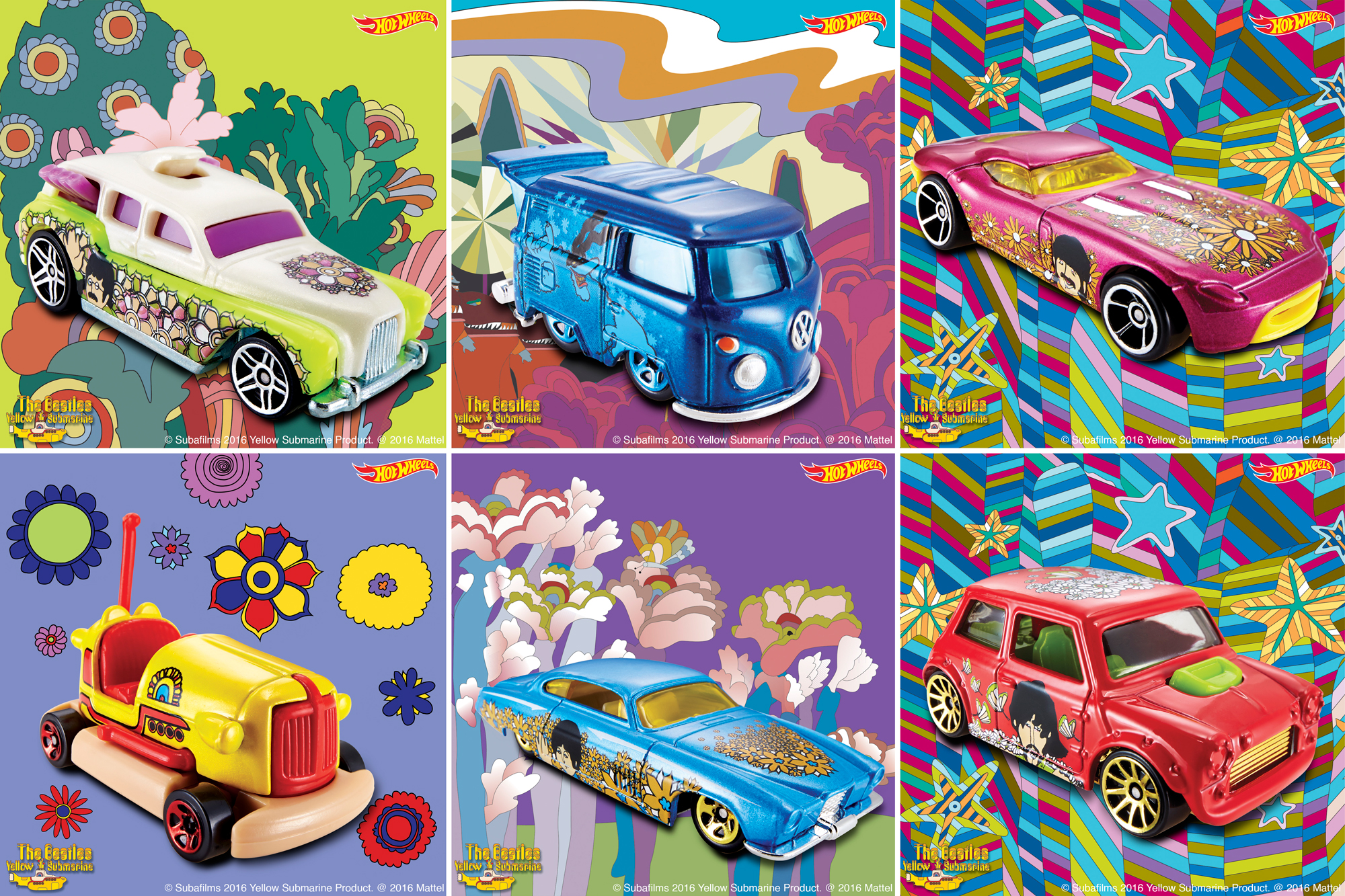 Hot Wheels clipart blue Hot Beatles' hotwheelsyellowsubline the Now