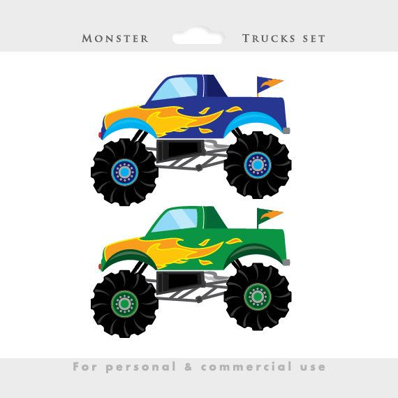 Hot Wheels clipart blue Personal clipart blue Monster download