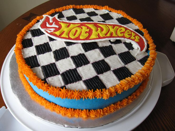 Hot Wheels clipart checkered Cakes  Pinterest on Hot