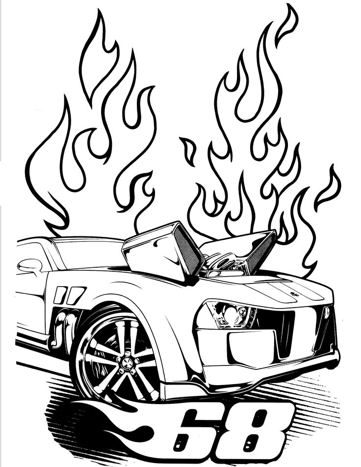 Hot Wheels clipart cute Pages Party Wheels #4 Hot