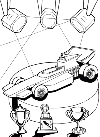 Hot Wheels clipart f1 racing car #9