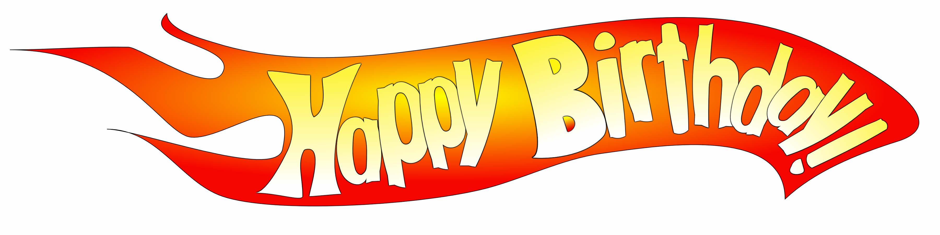 Hot Wheels clipart logo (I this Wheels birthday (I