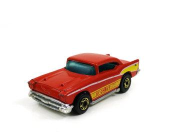 Hot Wheels clipart matchbox car Mattel 57 Chevy Car 1976