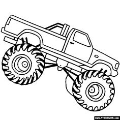 Hot Wheels clipart monster jam Truck Name your PrintableTreats own