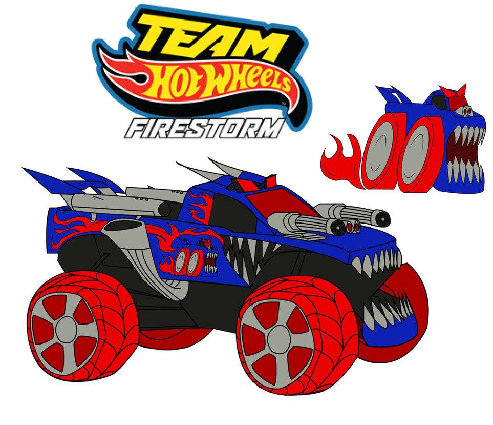 Hot Wheels clipart monster jam Firestorm Wheels Team JakeBurner Hot