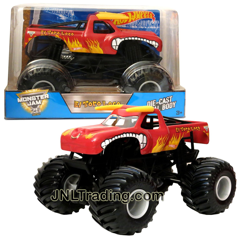 Hot Wheels clipart monster truck tire Monster Jam 1:24 Die Red