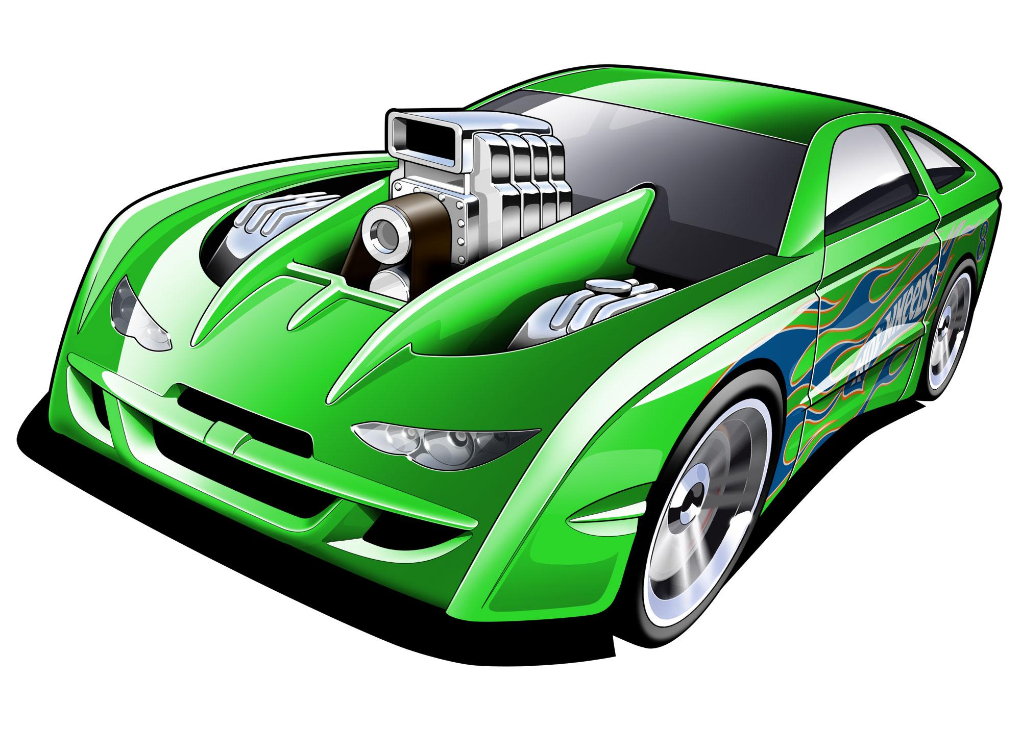 Hot Wheels clipart motor racing Coroflot at Wheels Illustration Favorite