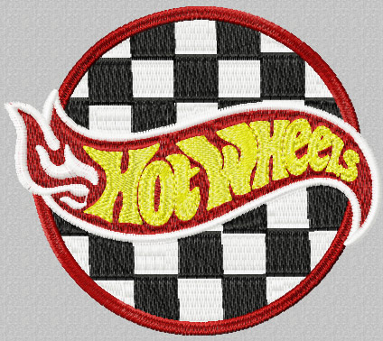 Hot Wheels clipart motor racing Sport Embroidery auto photography Machine