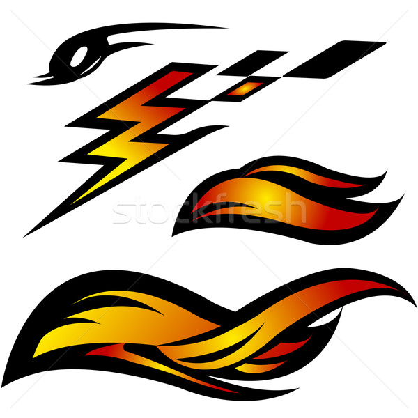 Hot Wheels clipart motorcycle flames Stockfresh exile7 (#297057) Auto comp