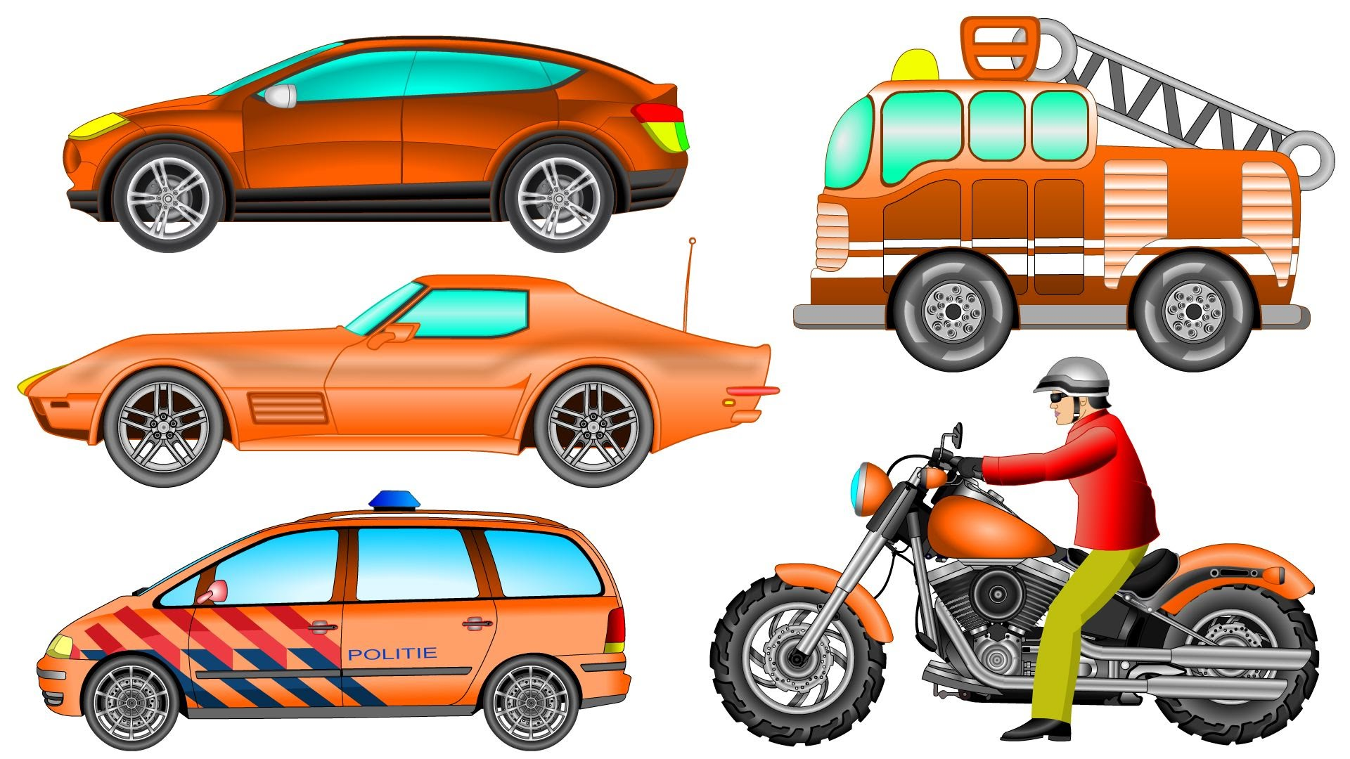 Hot Wheels clipart orange Learning and Street Vehicles Vehicles