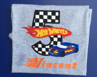 Hot Wheels clipart orange Wheels shirt Race or Birthday