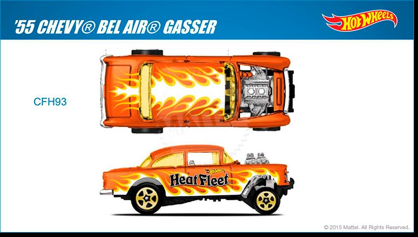 Hot Wheels clipart orange Air® Wheels Gasser Hot Collector