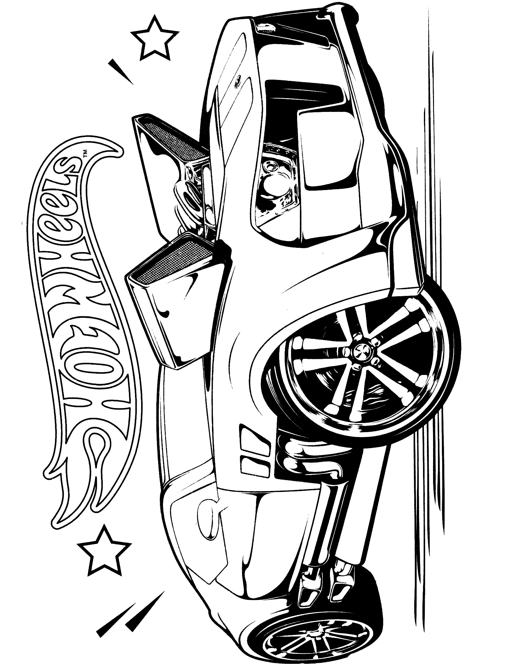 Hot Wheels clipart trophy Coloring  Wheels Pages Team