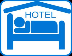 Hotel clipart Black/white Art Art Clip at